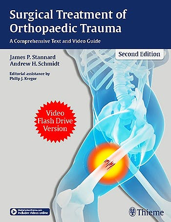 Portada del libro 9781626233966 Surgical Treatment of Orthopaedic Trauma. A Comprehensive Text and Video Guide. Video Flash Drive Version