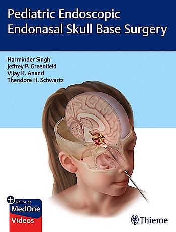 Portada del libro 9781626235014 Pediatric Endoscopic Endonasal Skull Base Surgery