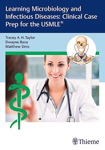 Portada del libro 9781626235083 Learning Microbiology and Infectious Diseases. Clinical Case Prep for the USMLE®