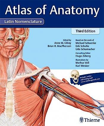 Portada del libro 9781626235229 Atlas of Anatomy (Latin Nomenclature)