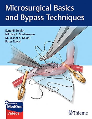 Portada del libro 9781626235304 Microsurgical Basics and Bypass Techniques