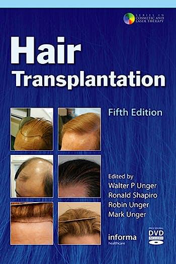 Portada del libro 9781626235700 Hair Transplantation + Dvd