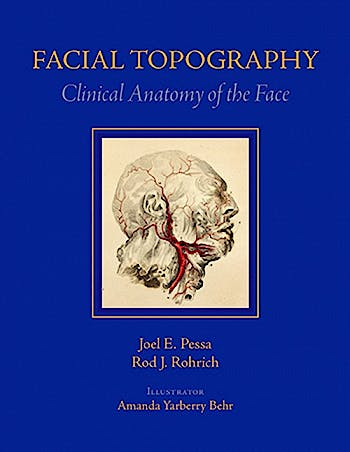 Portada del libro 9781626236202 Facial Topography. Clinical Anatomy of the Face + DVD