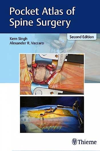 Portada del libro 9781626236233 Pocket Atlas of Spine Surgery