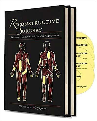 Portada del libro 9781626236349 Reconstructive Surgery. Anatomy, Technique and Clinical Applications, 2 Vols. + 4 Dvds