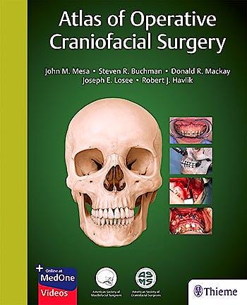 Portada del libro 9781626236707 Atlas of Operative Craniofacial Surgery