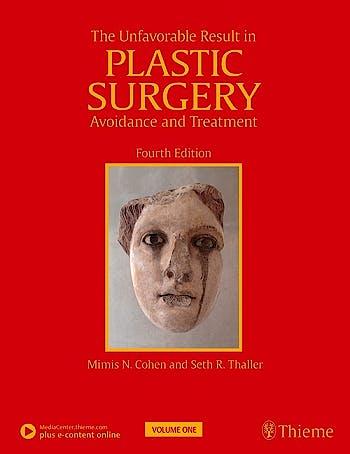 Portada del libro 9781626236745 The Unfavorable Result in Plastic Surgery. Avoidance and Treatment, 2 Vols. + E-Content Online