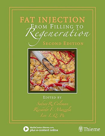 Portada del libro 9781626236752 Fat Injection. From Filling to Regeneration + E-Content Online.