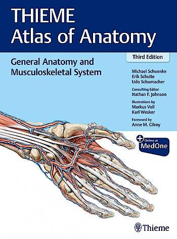 Portada del libro 9781626237186 THIEME Atlas of Anatomy, Vol. 1: General Anatomy and and Musculoskeletal System