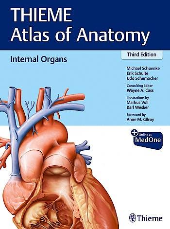 Portada del libro 9781626237209 THIEME Atlas of Anatomy, Vol. 2: Internal Organs