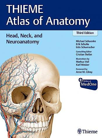 Portada del libro 9781626237223 THIEME Atlas of Anatomy, Vol. 3: Head, Neck, and Neuroanatomy
