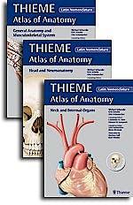Portada del libro 9781626237315 Thieme Atlas of Anatomy, 3 Vols. (Latin Nomenclature)