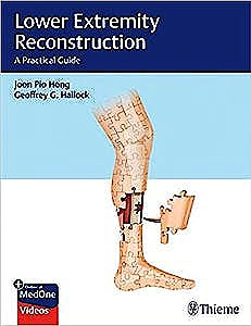 Portada del libro 9781626238084 Lower Extremity Reconstruction. A Practical Guide