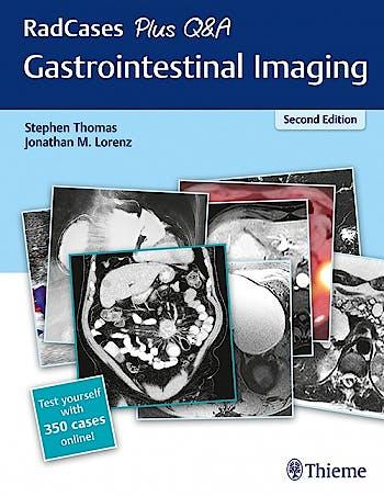 Portada del libro 9781626238688 Gastrointestinal Imaging (RadCases Plus Q&A)
