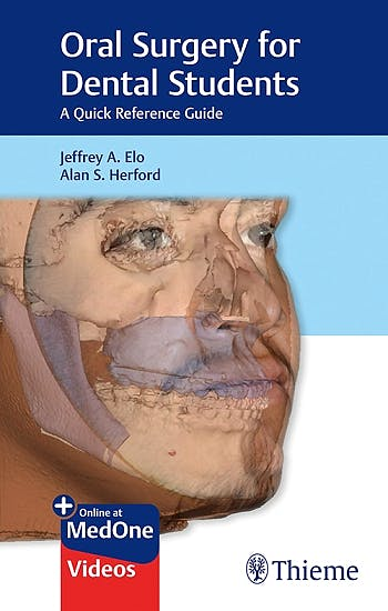 Portada del libro 9781626239104 Oral Surgery for Dental Students. A Quick Reference Guide