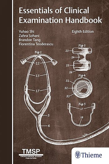 Portada del libro 9781626239449 Essentials of Clinical Examination Handbook