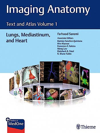 Portada del libro 9781626239883 Imaging Anatomy. Text and Atlas, Vol. 1: Lungs, Mediastinum, and Heart
