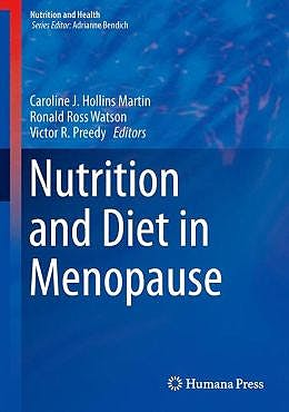 Portada del libro 9781627033725 Nutrition and Diet in Menopause (Nutrition and Health)