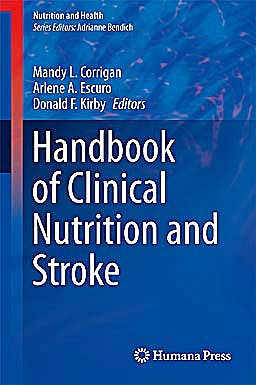 Portada del libro 9781627033794 Handbook of Clinical Nutrition and Stroke