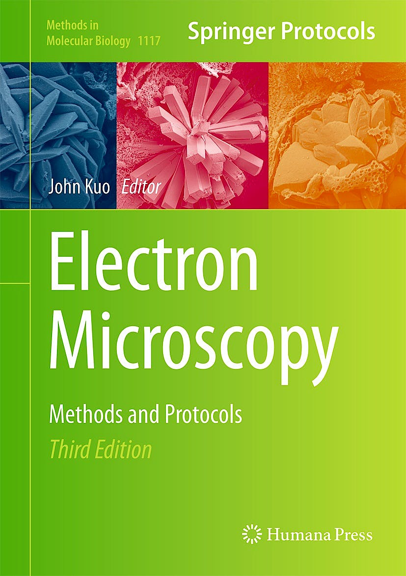 Portada del libro 9781627037754 Electron Microscopy. Methods and Protocols (Methods in Molecular Biology, Vol. 1117)