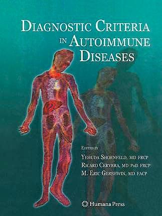 Portada del libro 9781627038584 Diagnostic Criteria In Autoimmune Diseases