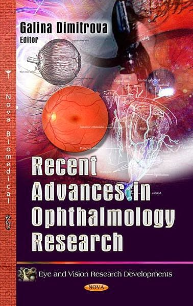 Portada del libro 9781628080216 Recent Advances in Ophthalmology Research
