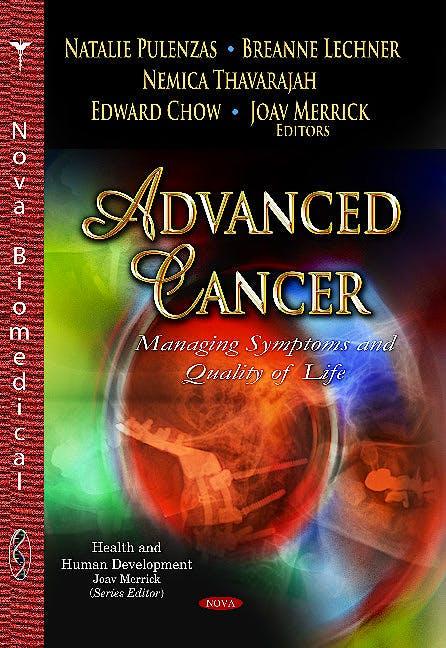 Portada del libro 9781628082395 Advanced Cancer. Managing Symptoms & Quality of Life (Health & Human Development Series)