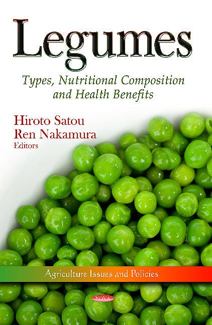 Portada del libro 9781628082807 Legumes. Types, Nutritional Composition & Health Benefits (Agriculture Issues & Policies Series)