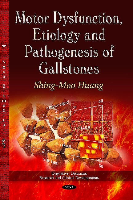 Portada del libro 9781628082968 Motor Dysfunction, Etiology & Pathogenesis of Gallstones (Digestive Diseases -- Research & Clinical Developments Series)