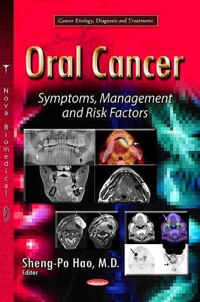 Portada del libro 9781629482156 Oral Cancer. Symptoms, Management and Risk Factors