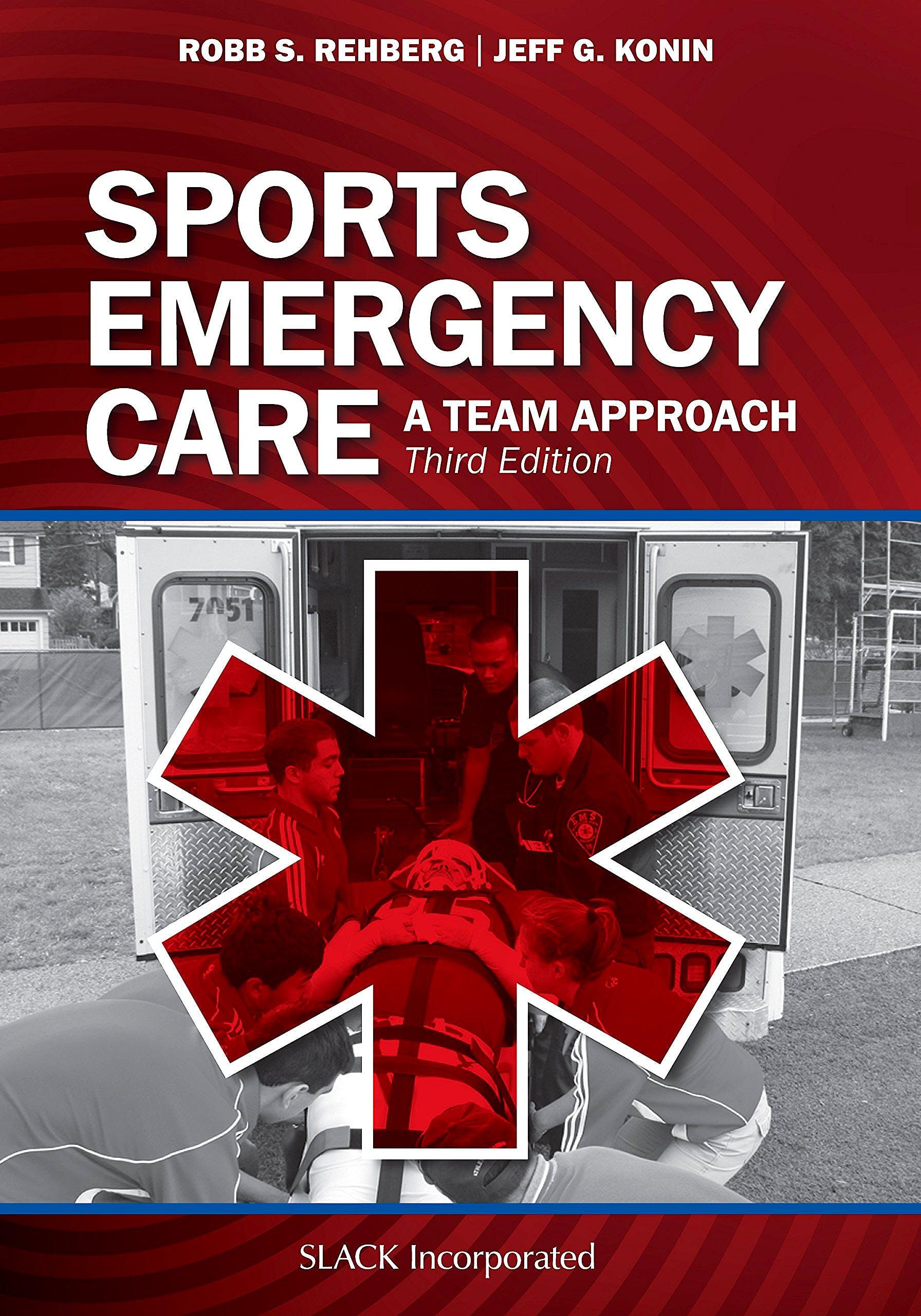 Portada del libro 9781630914332 Sports Emergency Care. A Team Approach