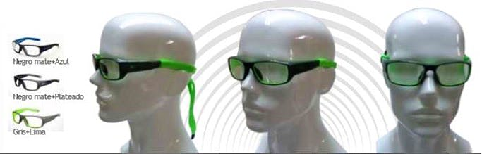Gafas de Protección Radiológica Mod. Nike Brazen, Eq. Pb 0,75 mm. Frontal