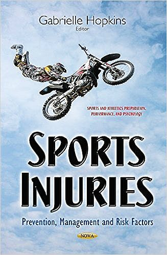 Portada del libro 9781634633055 Sports Injuries: Prevention, Management and Risk Factors