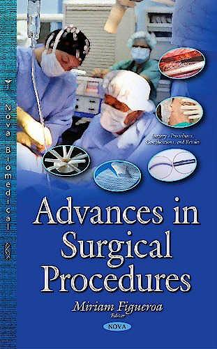 Portada del libro 9781634824613 Advances in Surgical Procedures