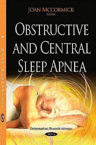 Portada del libro 9781634833356 Obstructive and Central Sleep Apnea