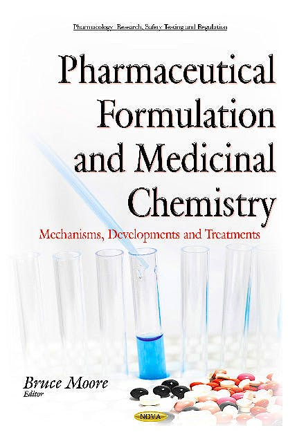 Portada del libro 9781634840828 Pharmaceutical Formulation and Medicinal Chemistry. Mechanisms, Developments and Treatments