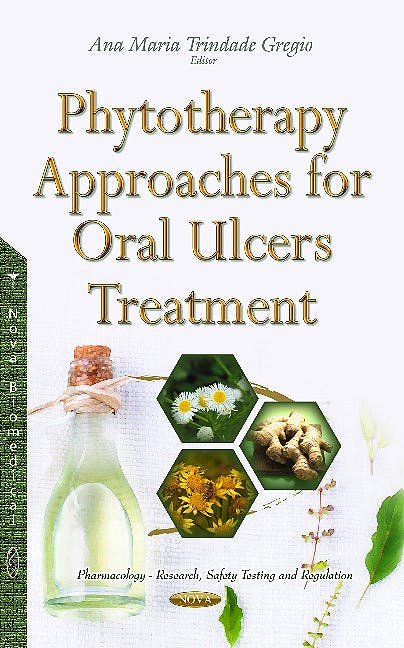 Portada del libro 9781634846721 Phytotherapy Approaches for Oral Ulcers Treatment