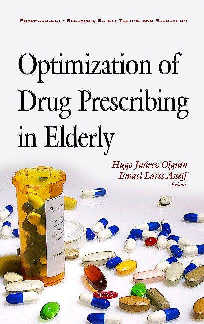 Portada del libro 9781634848794 Optimization of Drug Prescribing in Elderly