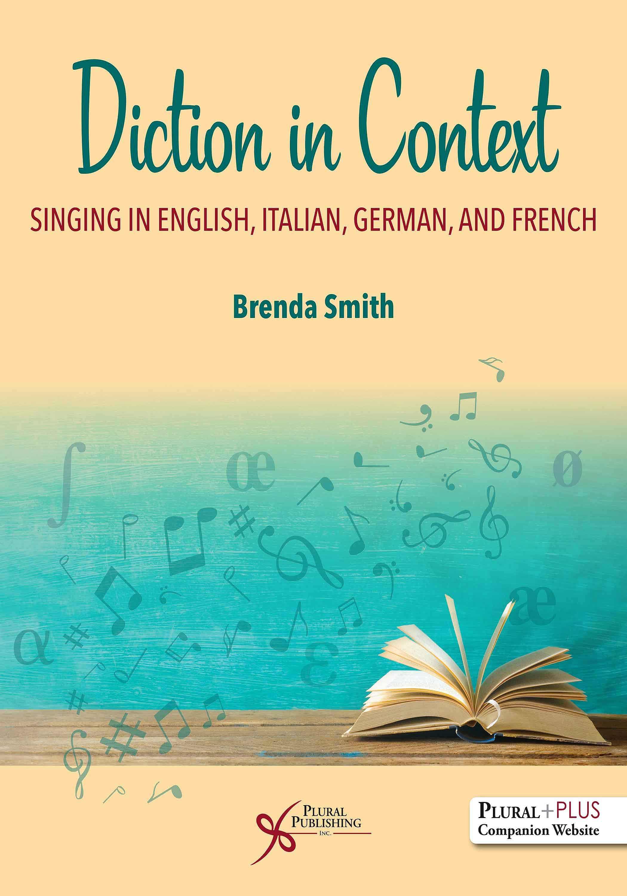 Portada del libro 9781635501209 Diction in Context. Singing in English, Italian, German, and French