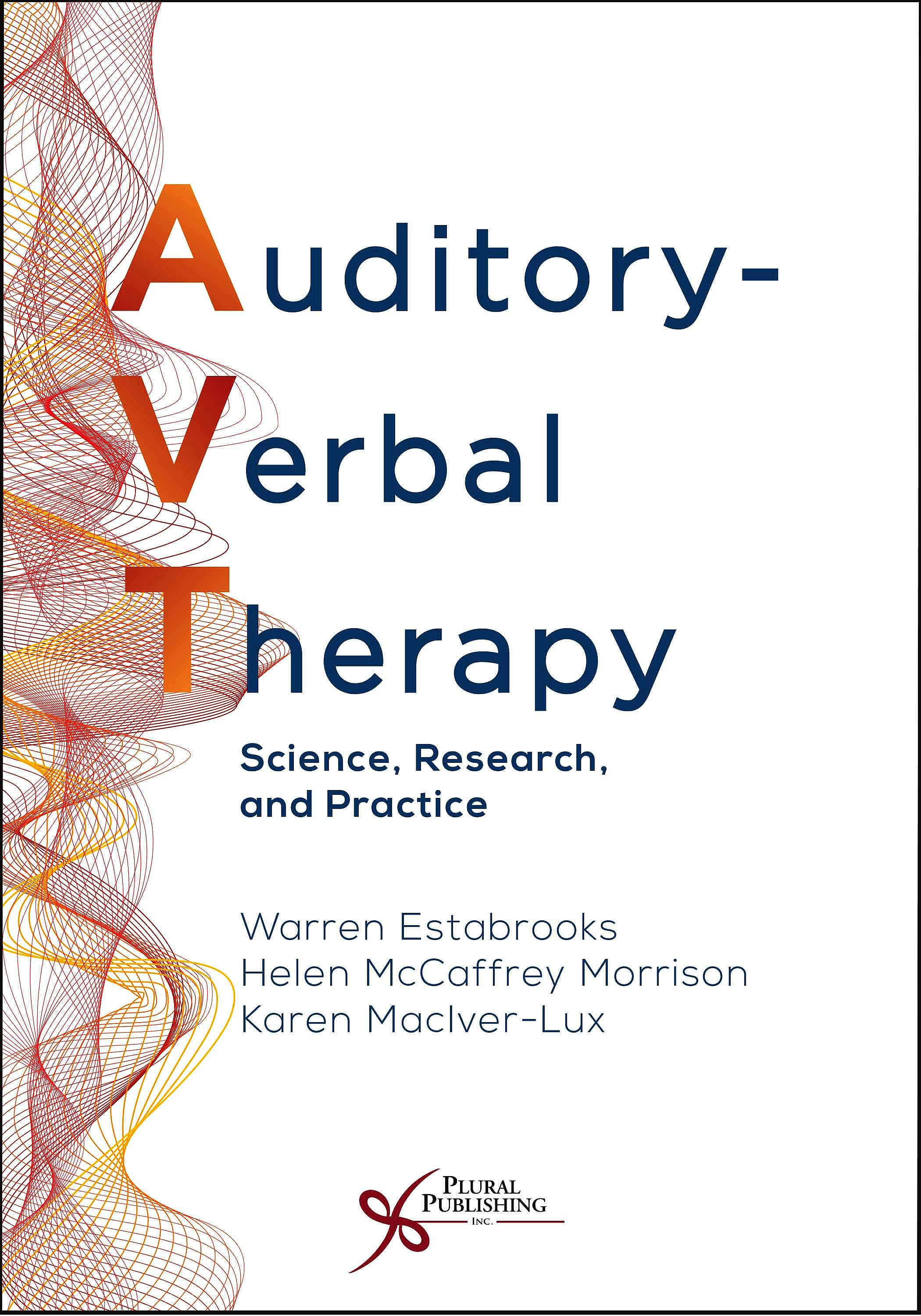 Portada del libro 9781635501742 Auditory-Verbal Therapy. Science, Research, and Practice