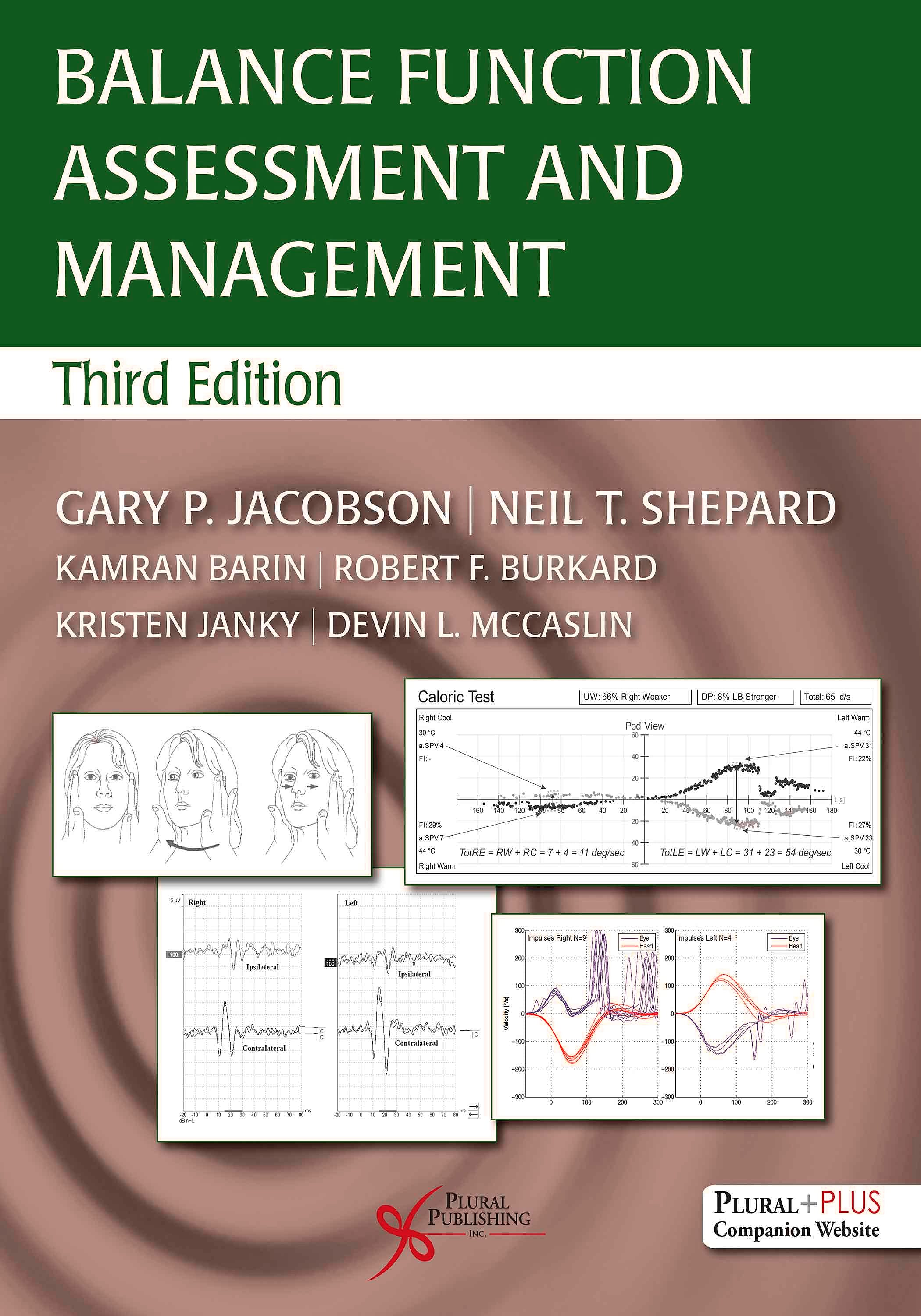 Portada del libro 9781635501889 Balance Function Assessment and Management