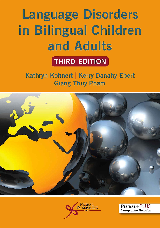 Portada del libro 9781635501896 Language Disorders in Bilingual Children and Adults