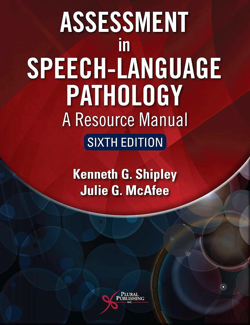 Portada del libro 9781635502046 Assessment in Speech-Language Pathology. A Resource Manual