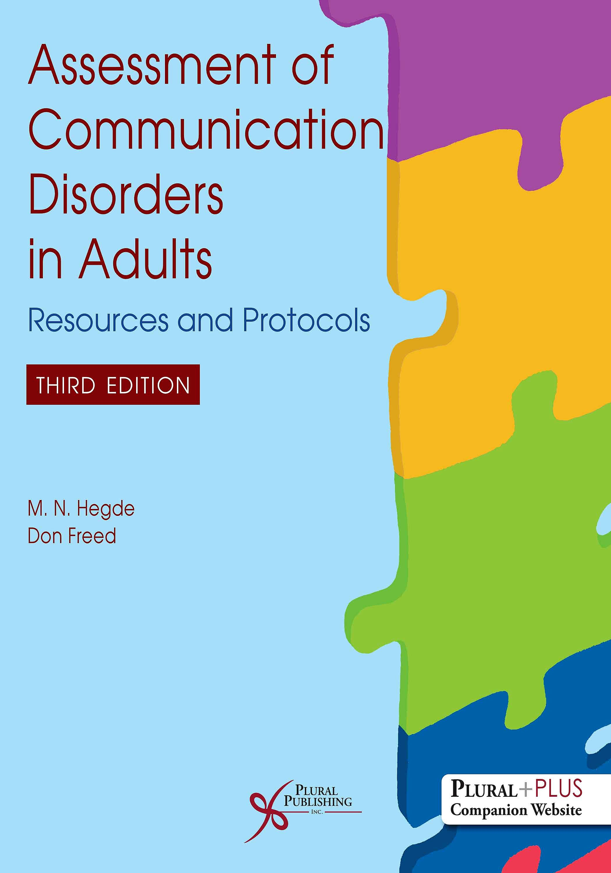 Portada del libro 9781635502633 Assessment of Communication Disorders in Adults. Resources and Protocols
