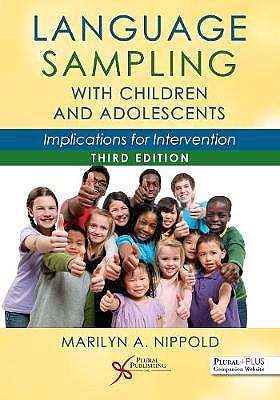 Portada del libro 9781635502763 Language Sampling With Children and Adolescents. Implications for Intervention
