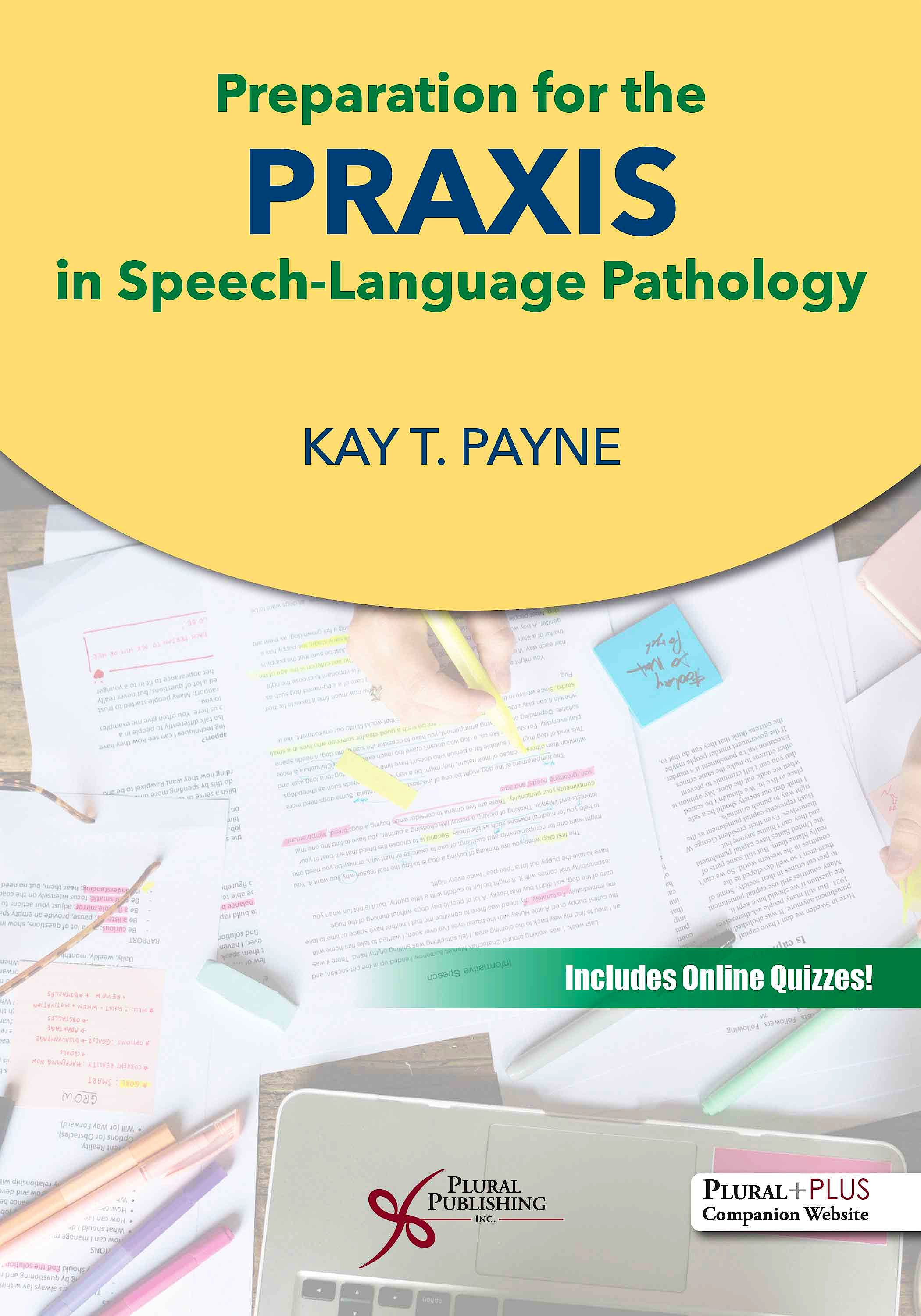 Portada del libro 9781635503142 Preparation for the Praxis in Speech-Language Pathology