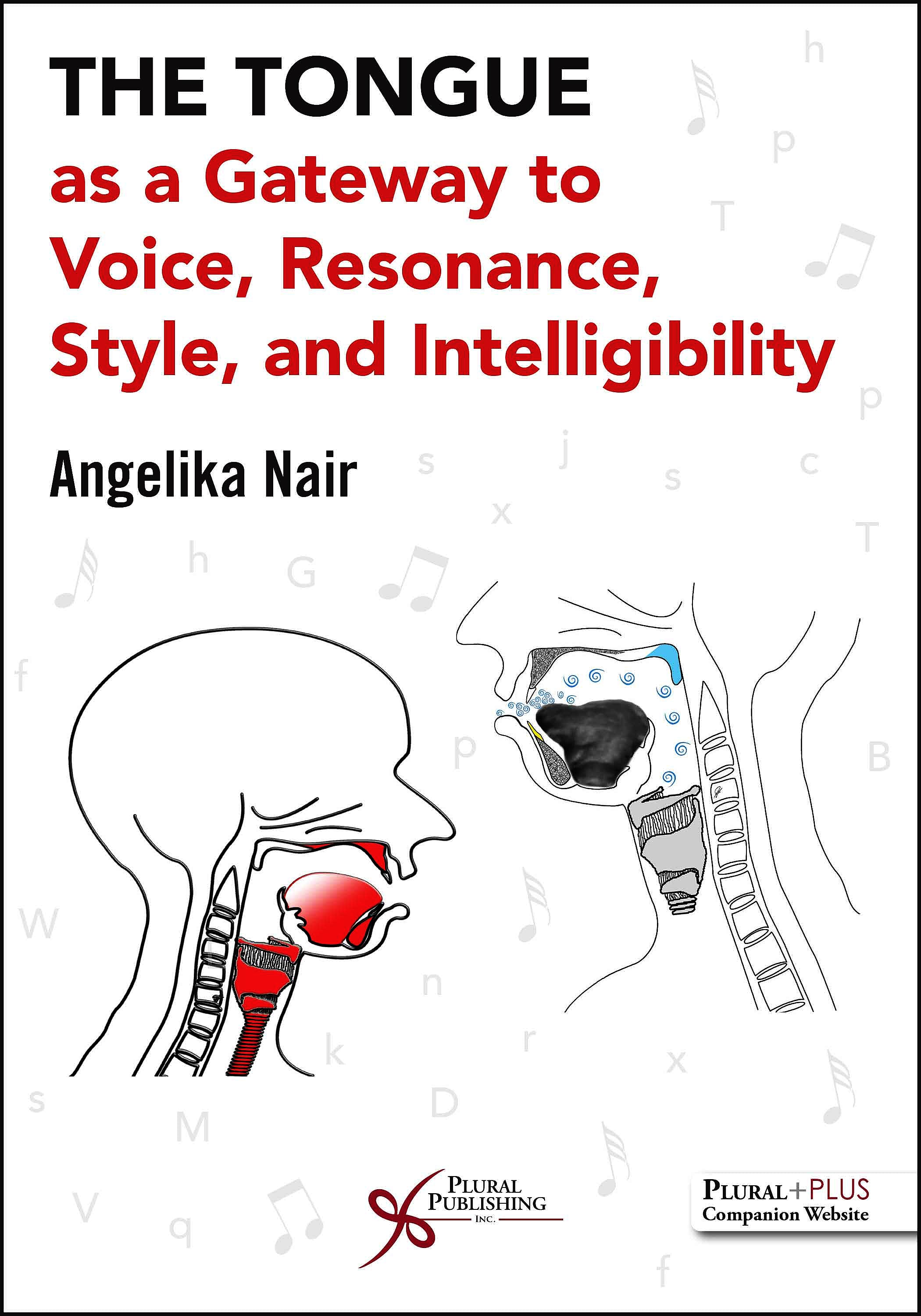 Portada del libro 9781635503630 The Tongue as a Gateway to Voice, Resonance, Style, and Intelligibility