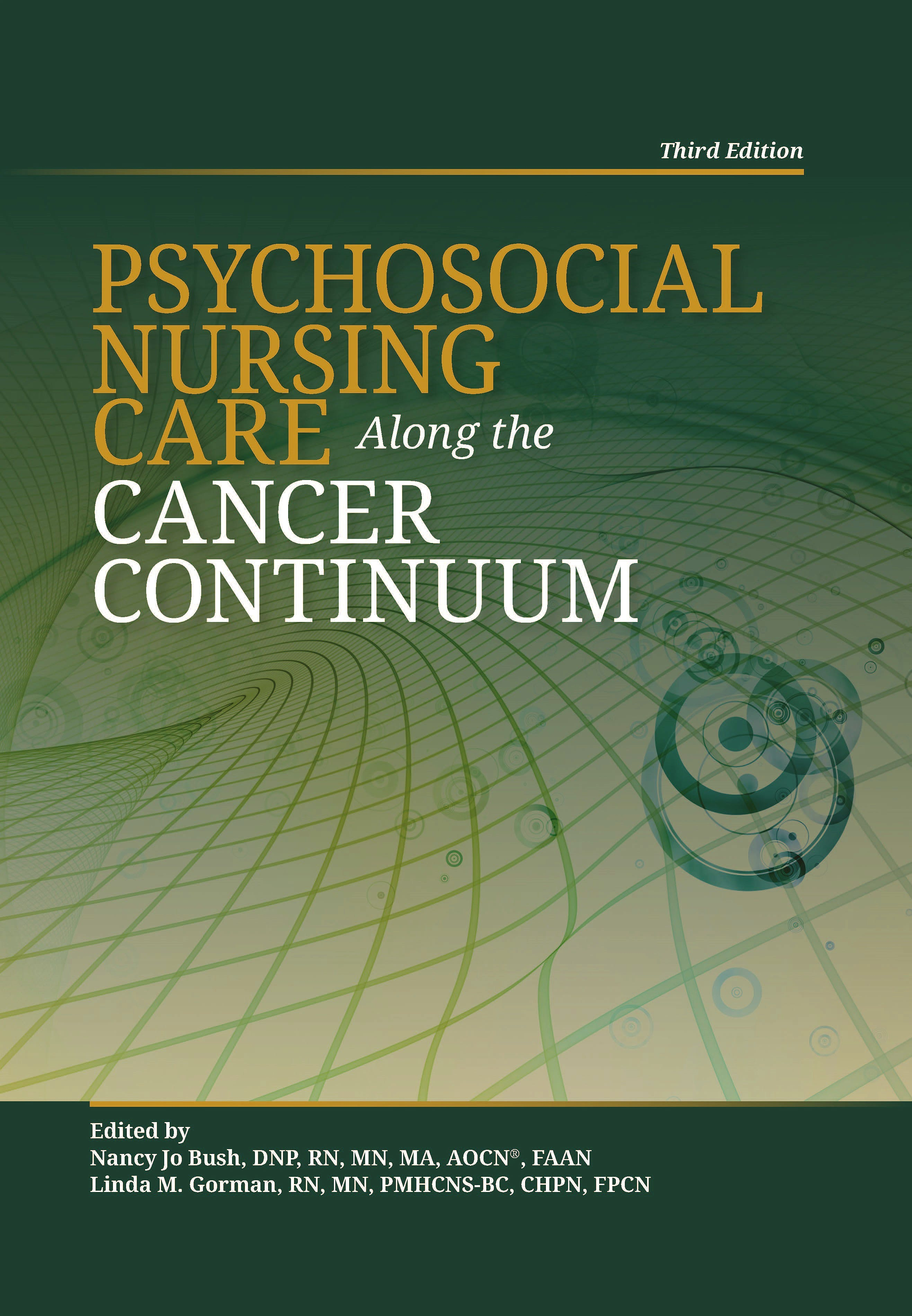 Portada del libro 9781635930030 Psychosocial Nursing Care Along the Cancer Continuum