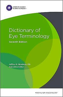 Portada del libro 9781681042985 Dictionary of Eye Terminology