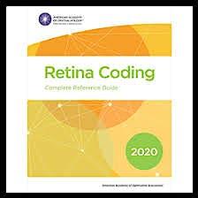 Portada del libro 9781681043326 2020 Retina Coding. Complete Reference Guide
